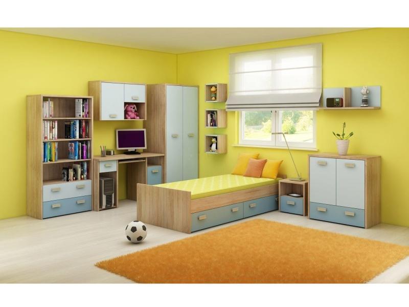 MORAVIA FLAT Dětský pokoj KITTY 2, barva: ...