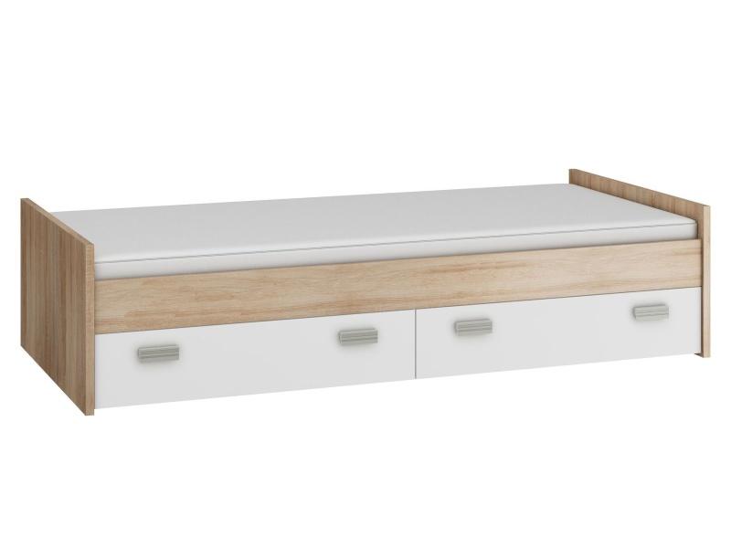 MORAVIA FLAT KITTY, postel nízká KIT-04 s roštem, barva: ...