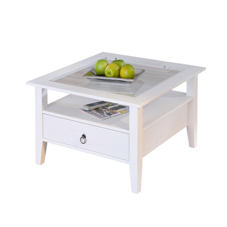 Idea Konferenční stolek PROVENCE, bílá