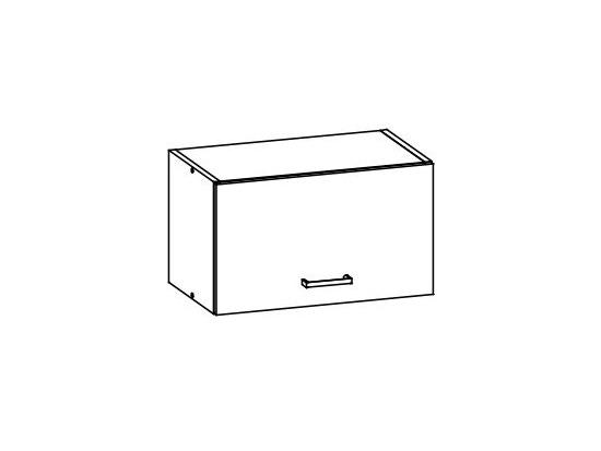 EZ8/G50o - ELIZA, skříňka nad digestoř 50 cm, rijeka světlá