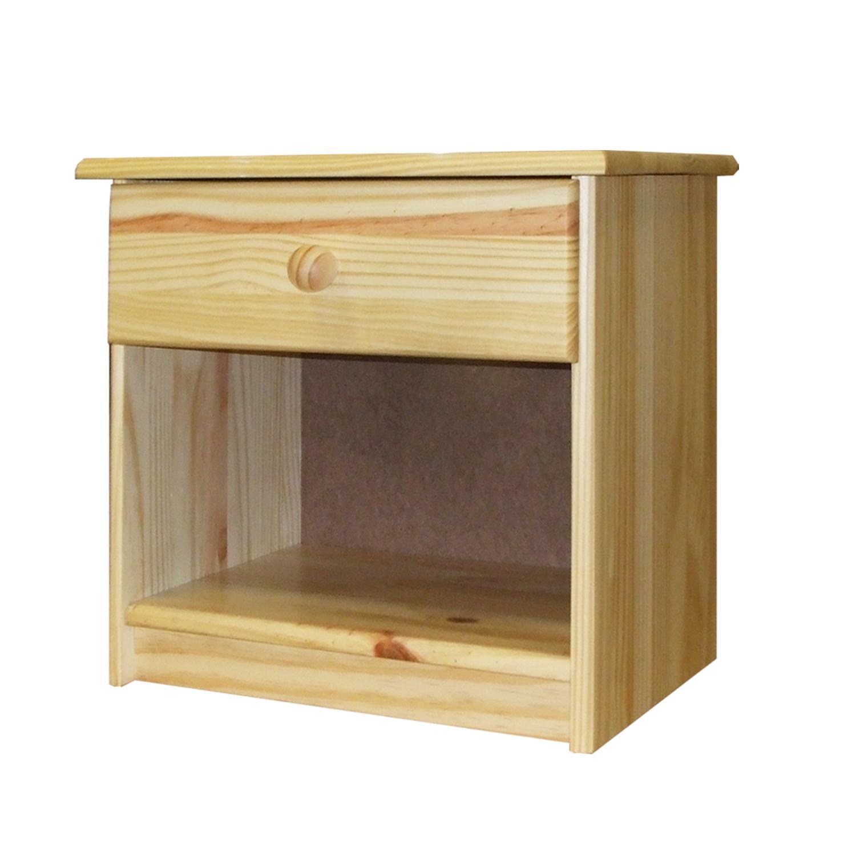 Smarshop Noční stolek 8812, masiv borovice