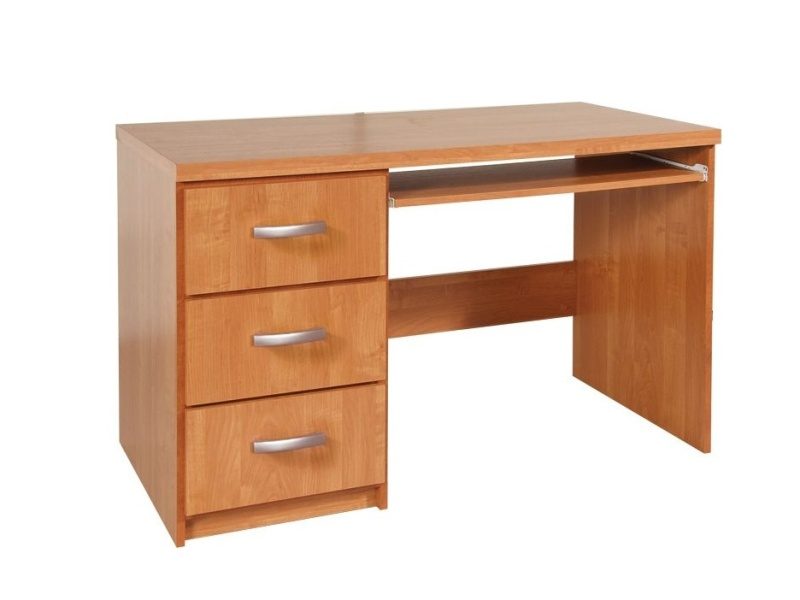 MORAVIA FLAT PC stůl se zásuvkami SANTA CRUZ 2, barva: