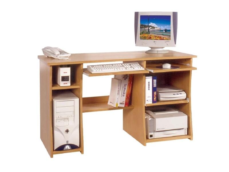 MORAVIA FLAT Studentský PC stůl MASTER, barva: