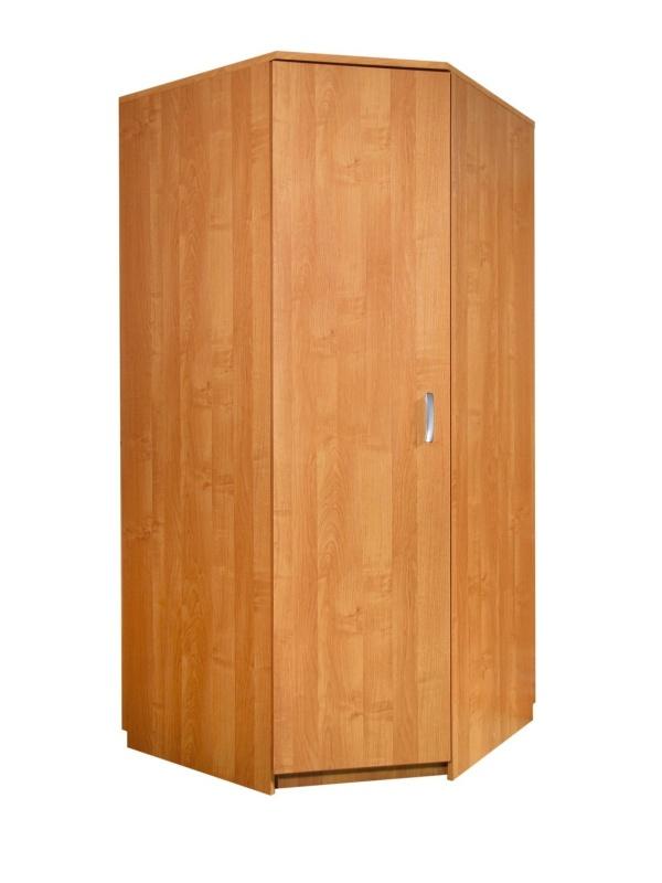 MORAVIA FLAT Šatní skříň rohová, barva:
