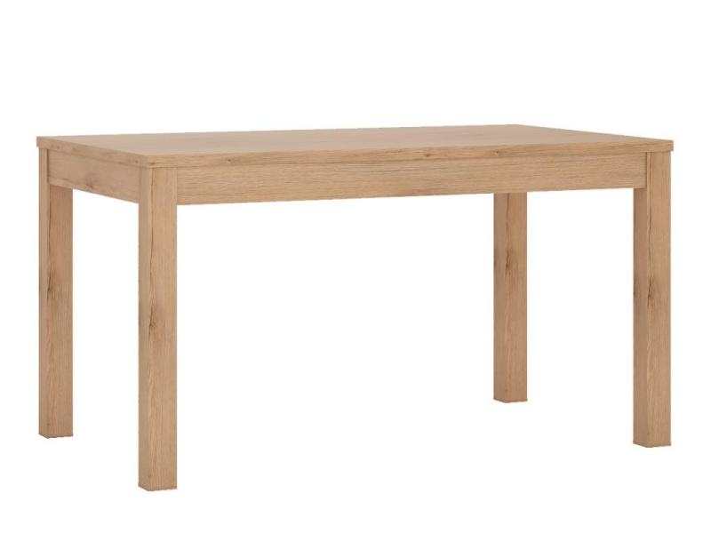 SUMMER, rozkládací jídelní stůl, typ 75, san remo světlé