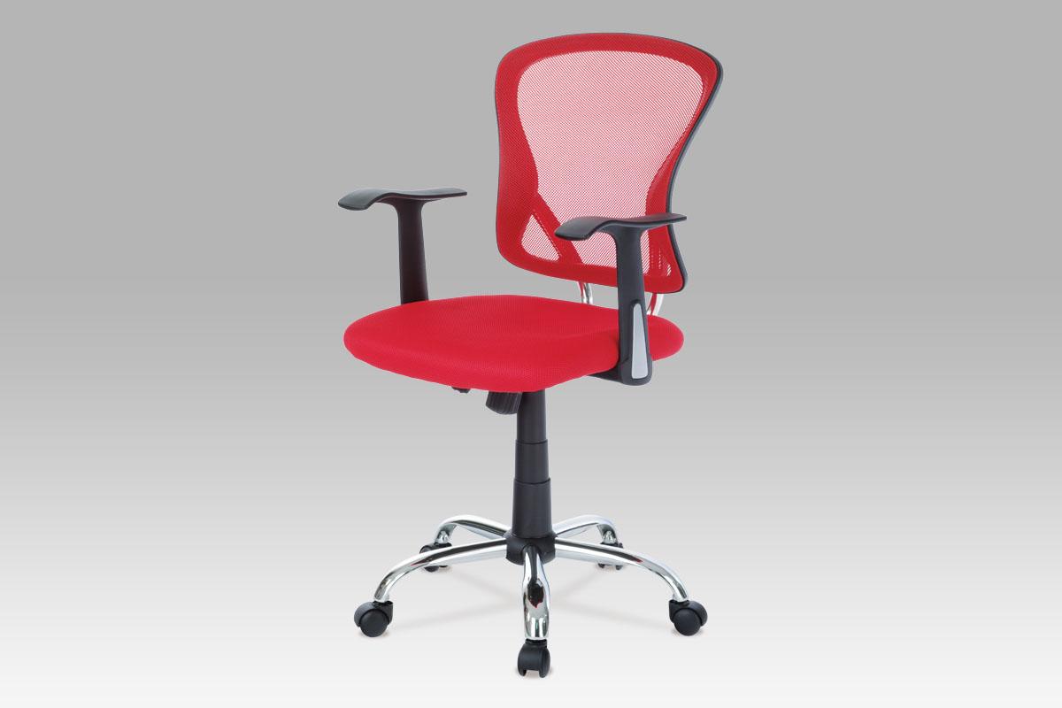 Smartshop Kancelářská židle KA-N806 RED, mesh červená