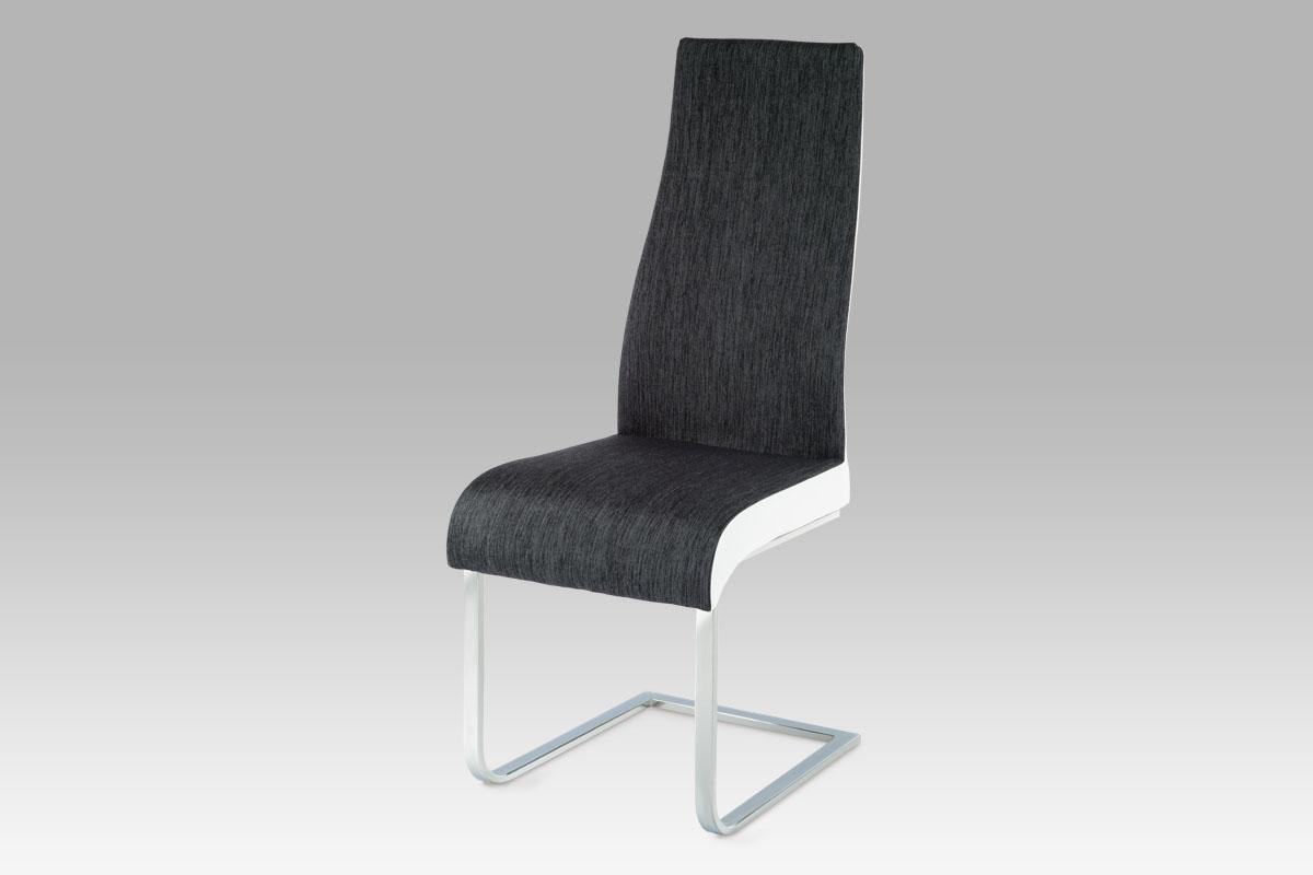 Autronic Jídelní židle AC-1817 BKW2, černo-bílá