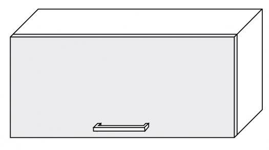 Extom *TITANIUM, horní skříňka W4b 80, korpus: grey