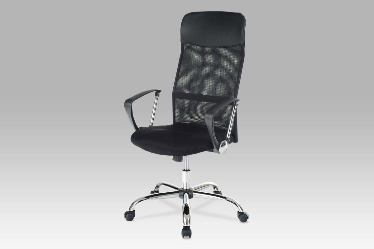 Autronic Kancelářská židle KA-E300 BK, látka MESH černá