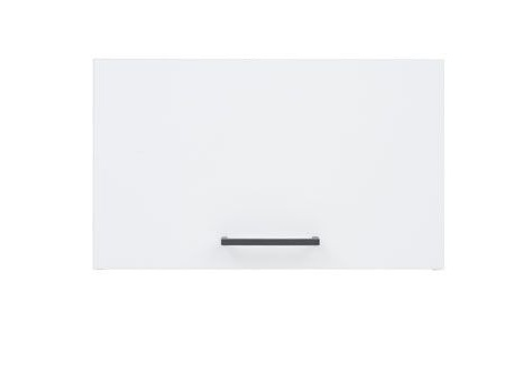 JUNONA LINE, skříňka nad digestoř 50 cm, bílý lesk