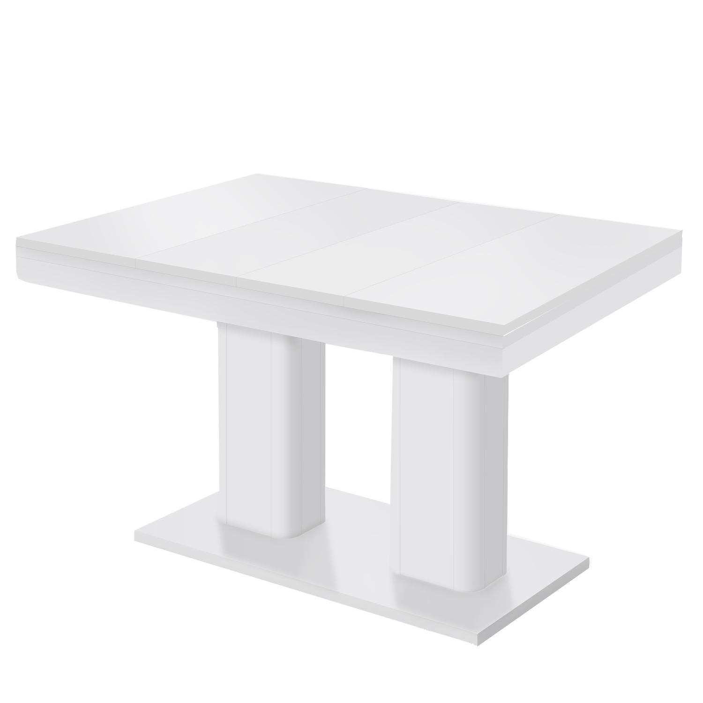 Smarshop Rozkládací jídelní stůl HEIDELBERG bílý