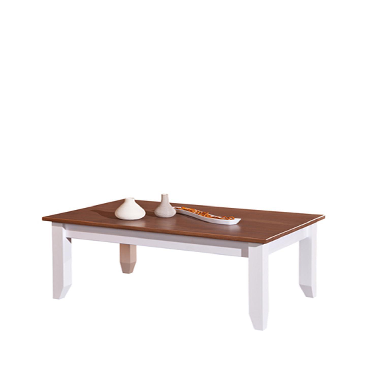 Konferenční stolek WESTERLAND 22, masiv, bílý lak