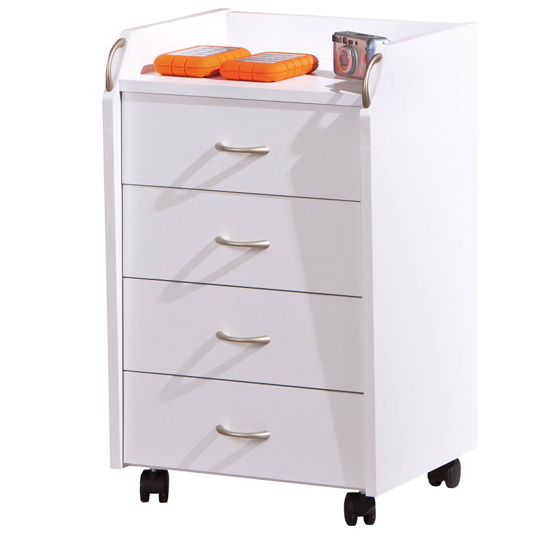 Smarshop Kontejner 4 zásuvky Pronti, bílý