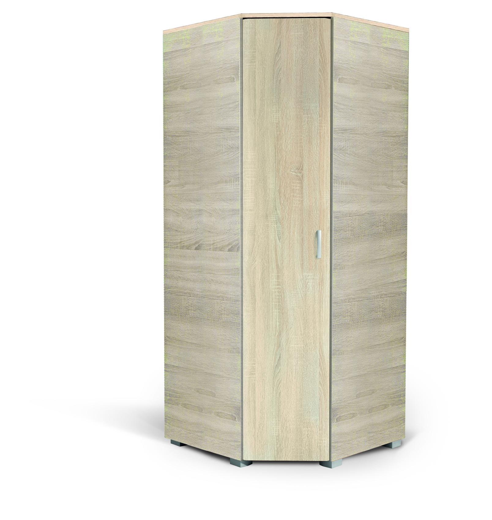MATIS MILANO, rohová skříň, dub bardolino