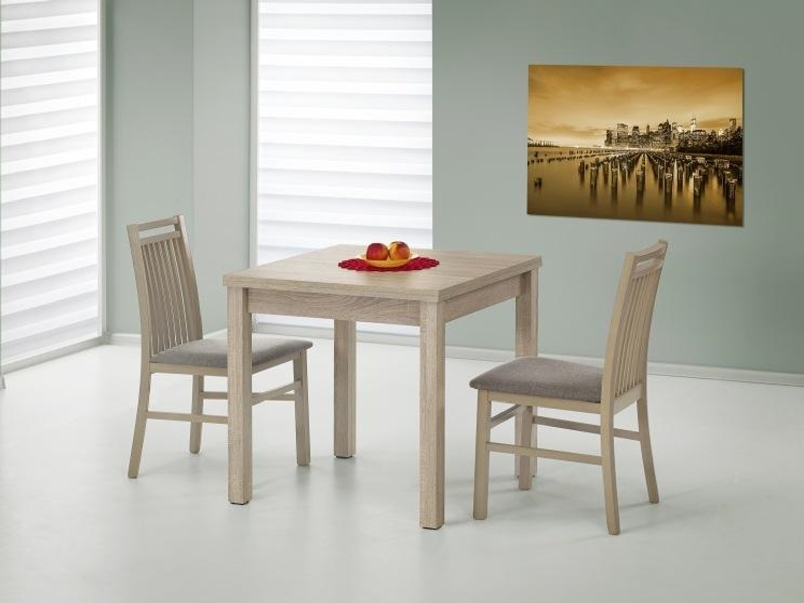 Jídelní stůl rozkládací GRACJAN, dub sonoma