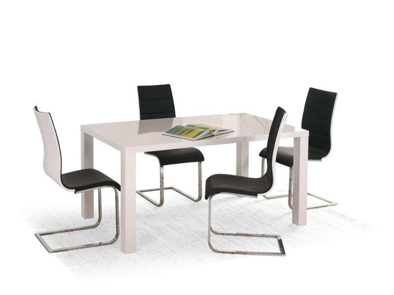 Halmar Jídelní stůl rozkládací RONALD 120/160, bílý