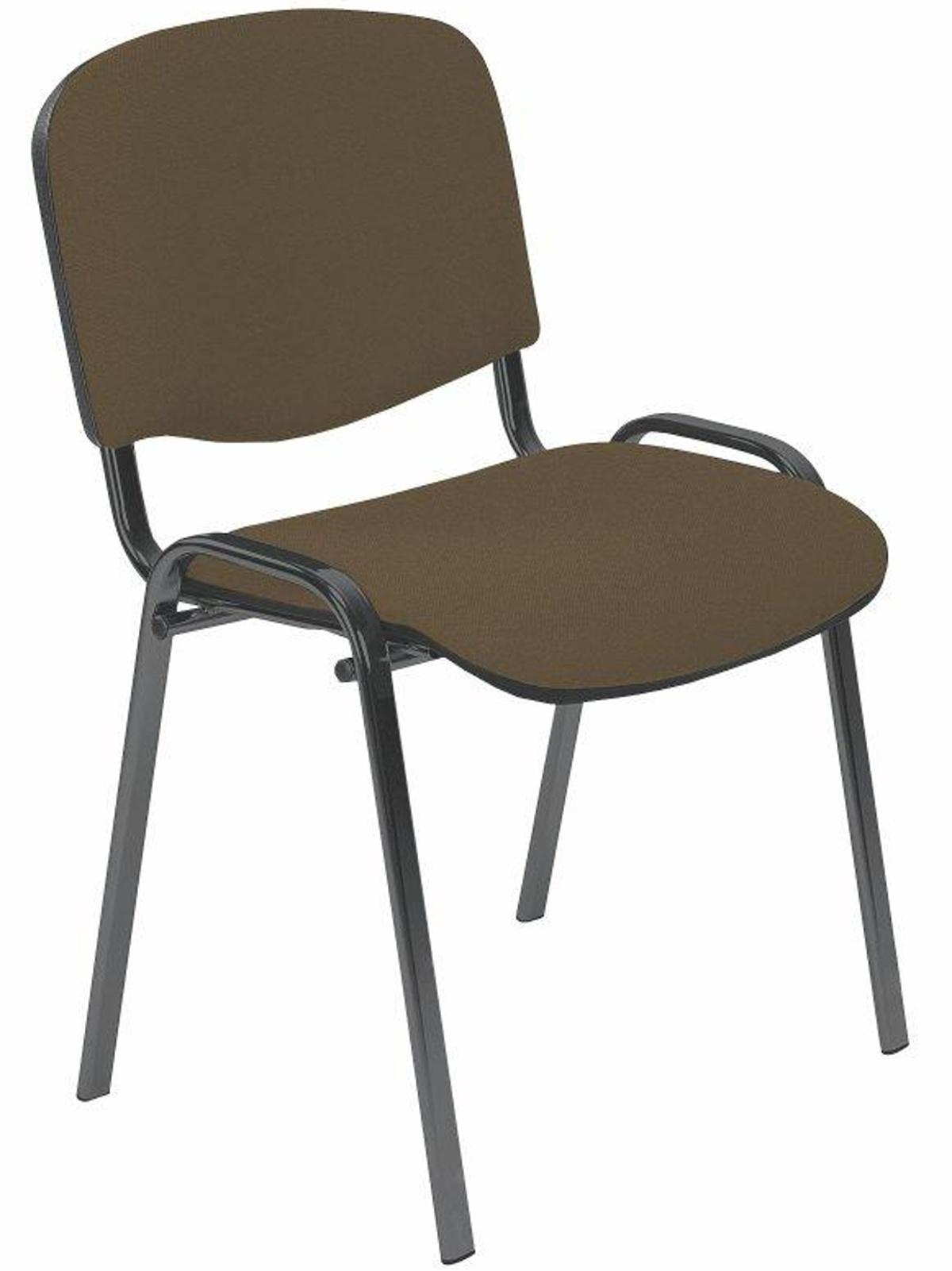 Halmar Konferenční židle ISO, hnědá