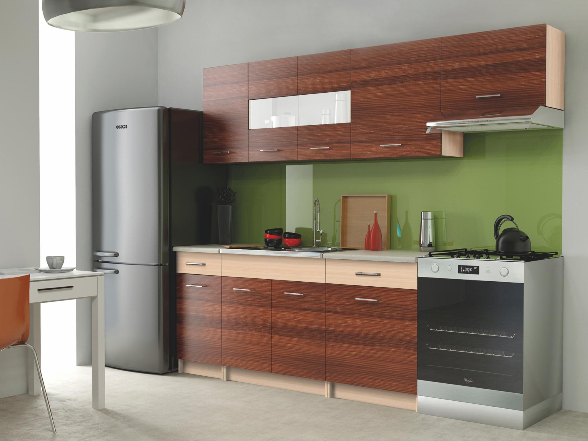 Kuchyně ALINA , 180/240 cm, jilm piemonte/jilm venetio