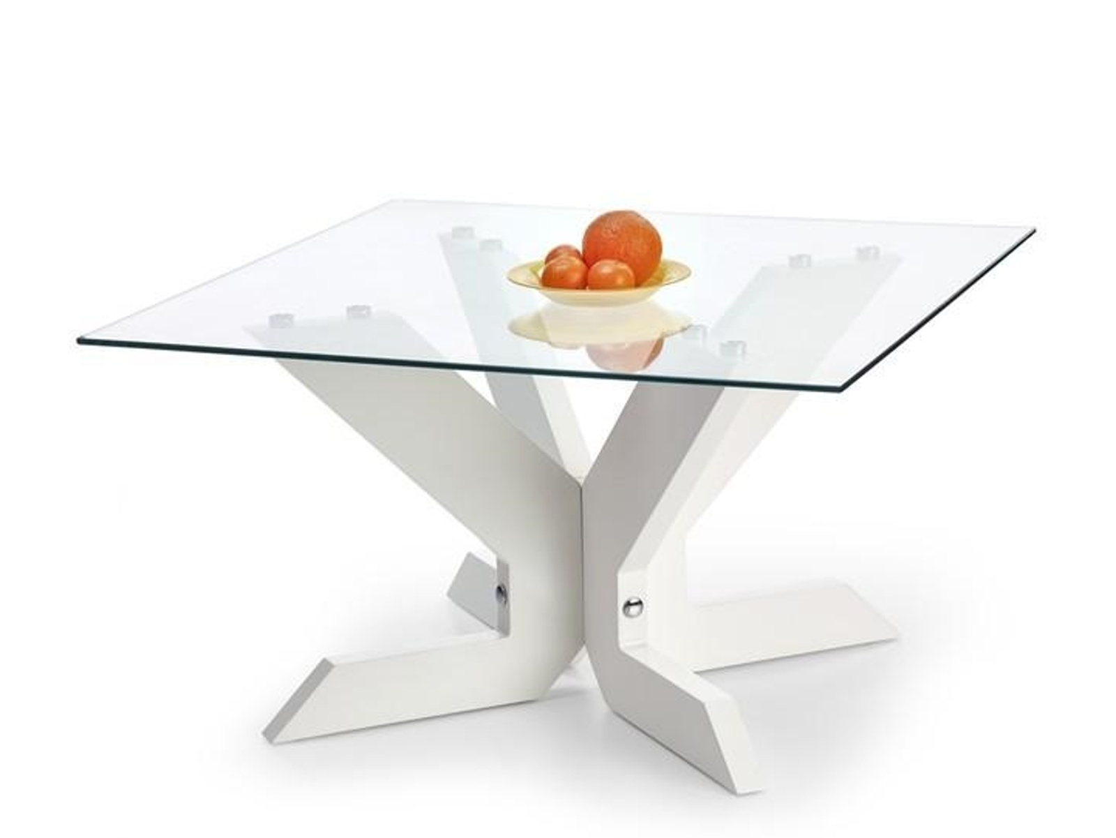 Halmar Konferenční stolek AISHA, bílý
