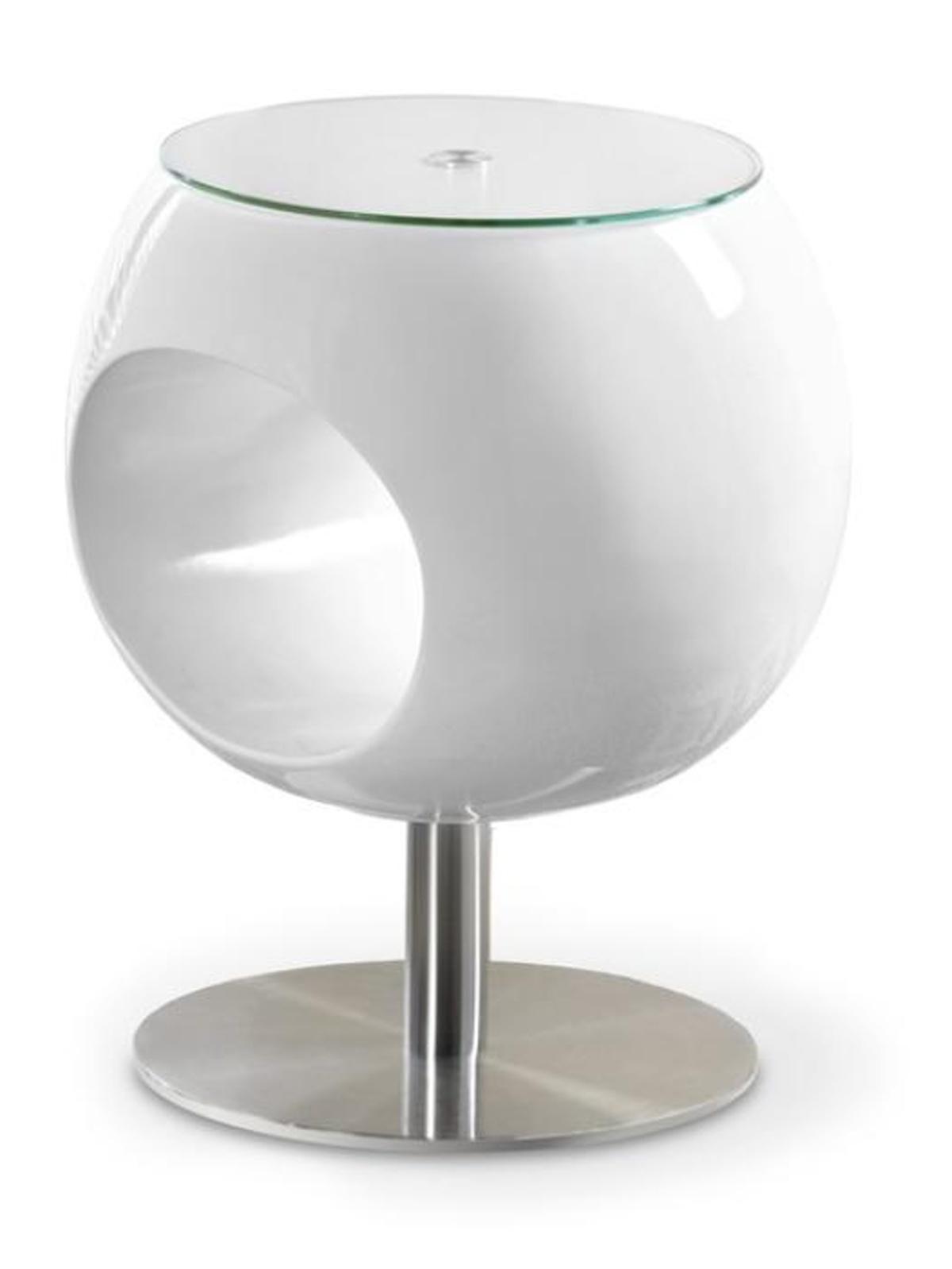 Halmar Konferenční stolek DONNA, bílá