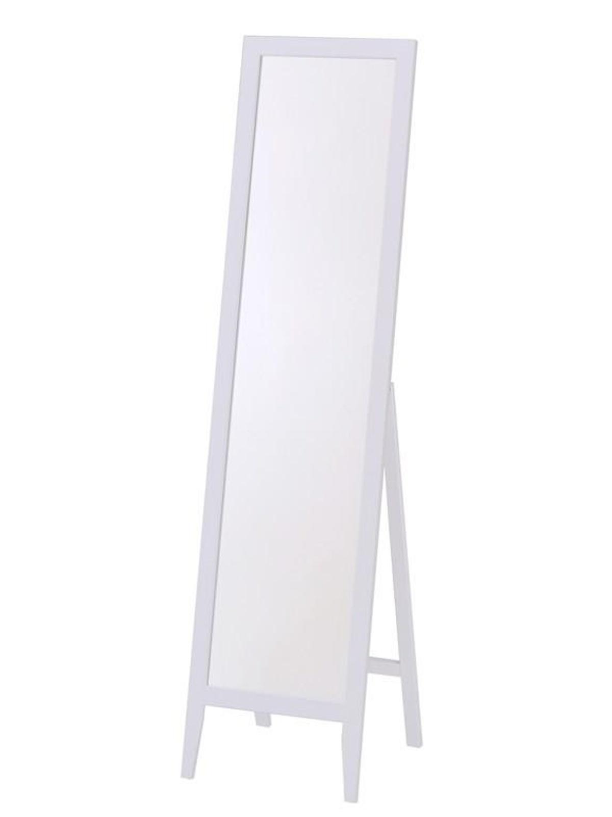 Halmar Obdelníkové stojací zrcadlo LS-1, bílé