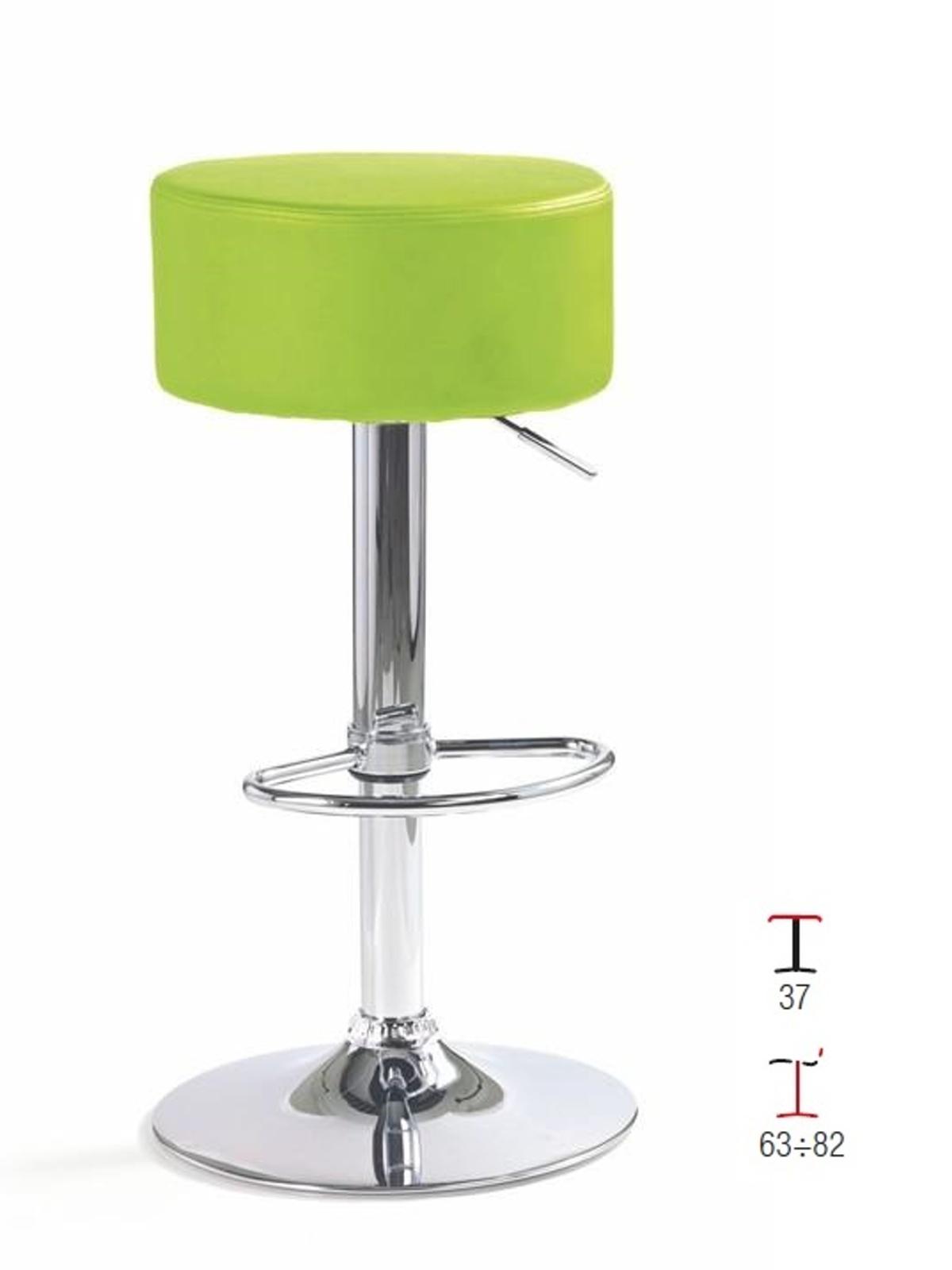 Halmar Barová židle H-23, zelená