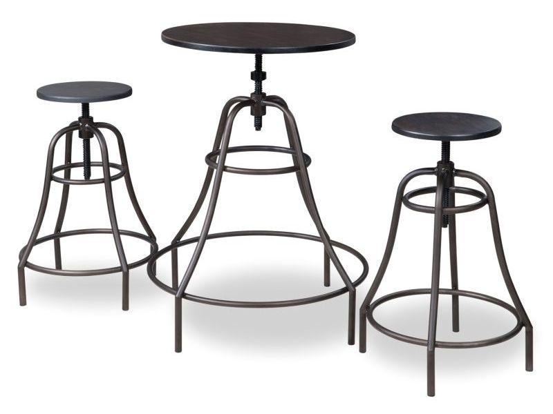 Smartshop Sestava TANGO, 1 stůl + 2 židle