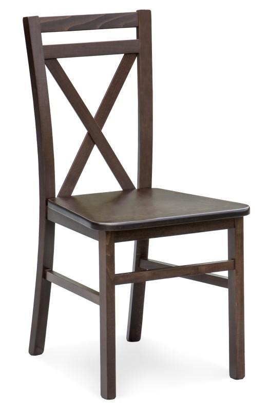 Halmar Židle DARIUS 2, tmavý ořech