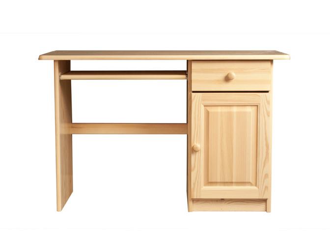 MAGNAT Dřevěný PC stůl MARCO, masiv borovice, moření: ...