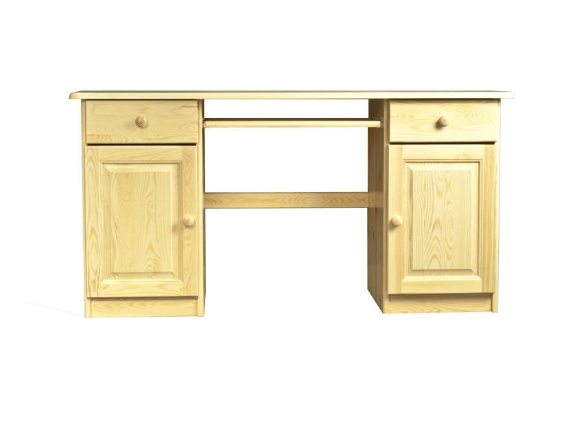 MAGNAT Dřevěný PC stůl CARLOS, masiv borovice, moření: ...