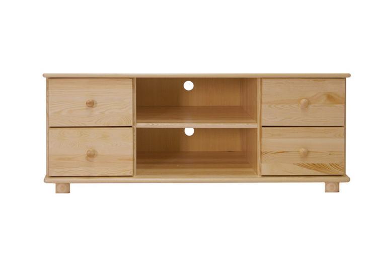 RTV stolek TAMONAD 3, šíře 118 cm, masiv borovice, moření: ...