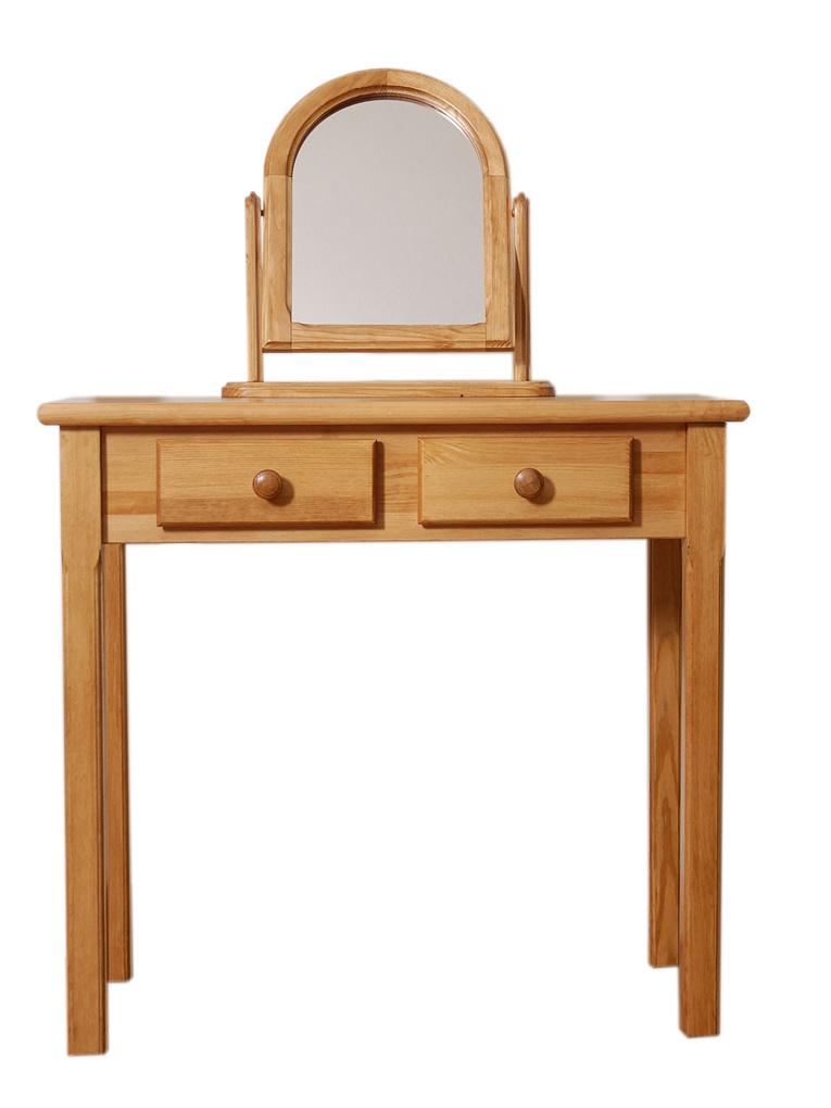 MAGNAT Toaletní stolek, masiv borovice/moření olše