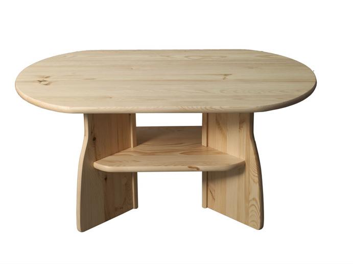 Konferenční stolek nr.6, masiv borovice, moření: ...