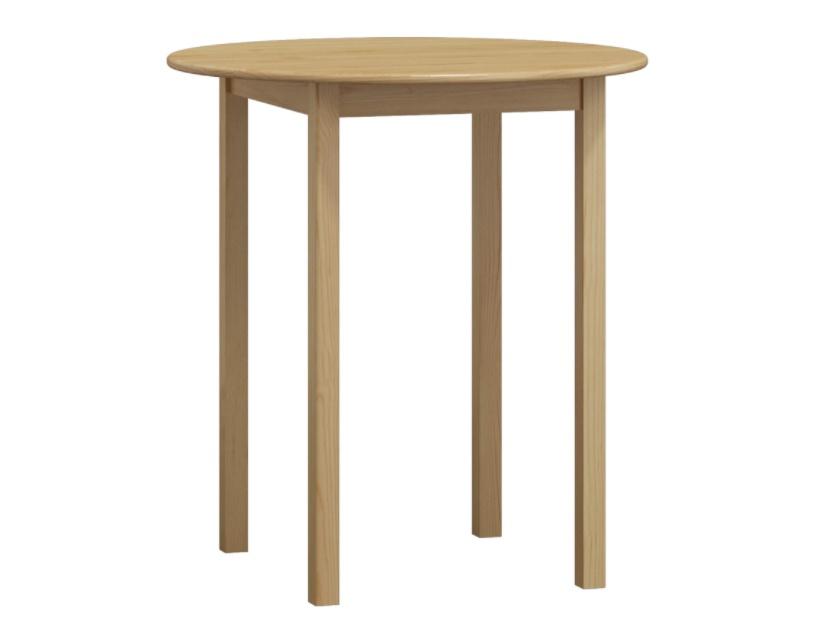 Stůl průměr 110 cm nr.3, masiv borovice/moření: ...