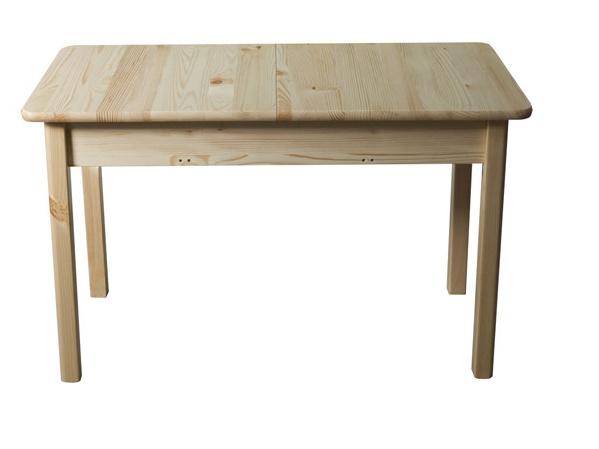 Stůl 120/150 x 60 cm nr.8, masiv borovice/moření: ...