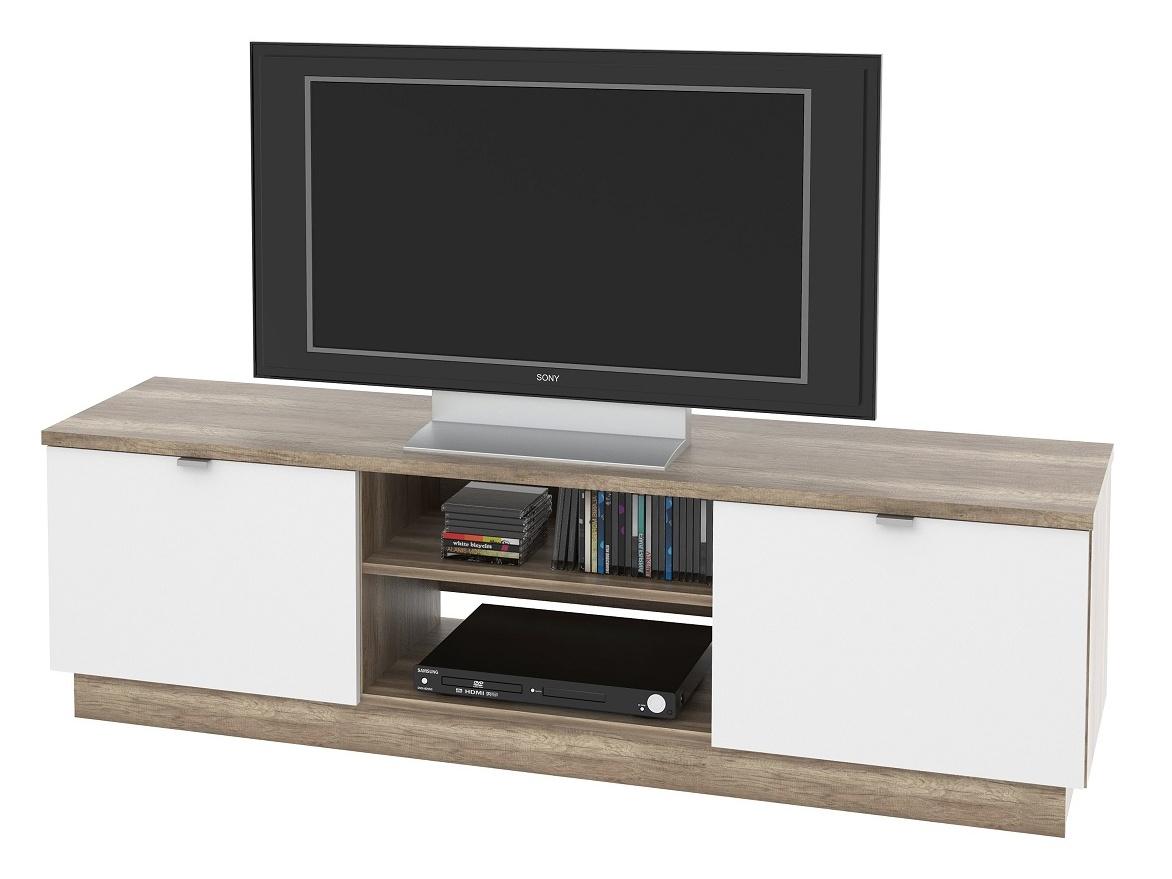 MB Domus TV stolek, VENETO 03 canyon oak/bílá