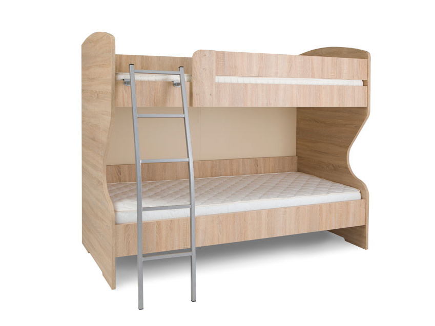 MATIS HAPPY, patrová postel, dub