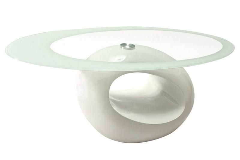 Smartshop Konferenční stolek ETNA, bílý lesk