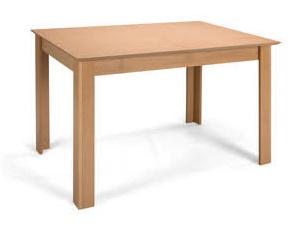 MATIS Jídelní stůl rozkládací STANDARD PLUS 120/153x80, buk