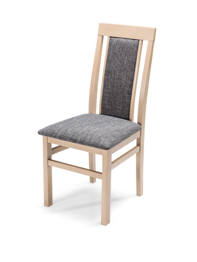 MATIS Čalouněná jídelní židle QUEEN LUX, dub