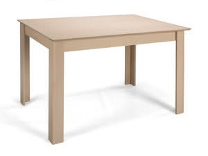 Jídelní stůl rozkládací STANDARD PLUS 120/153x80, dub