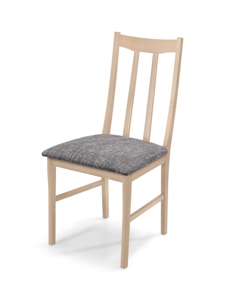 MATIS Čalouněná jídelní židle QUEEN, dub