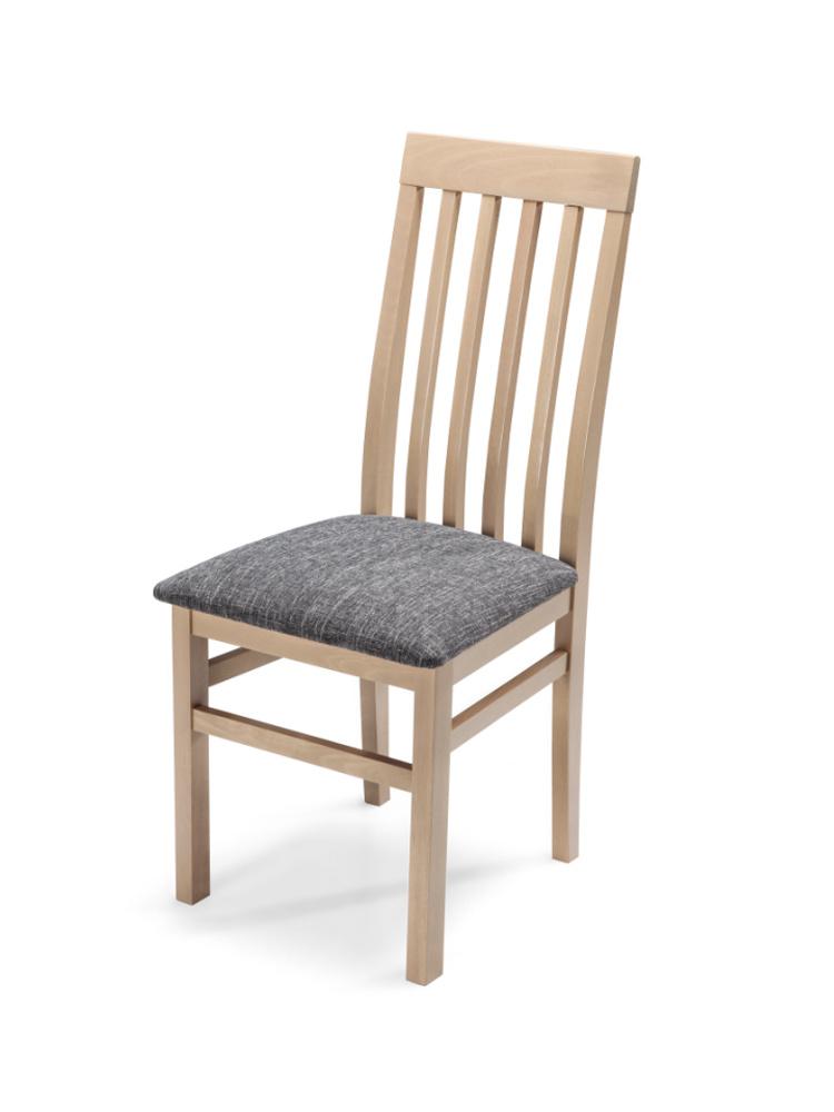 MATIS Čalouněná jídelní židle QUEEN PLUS, dub