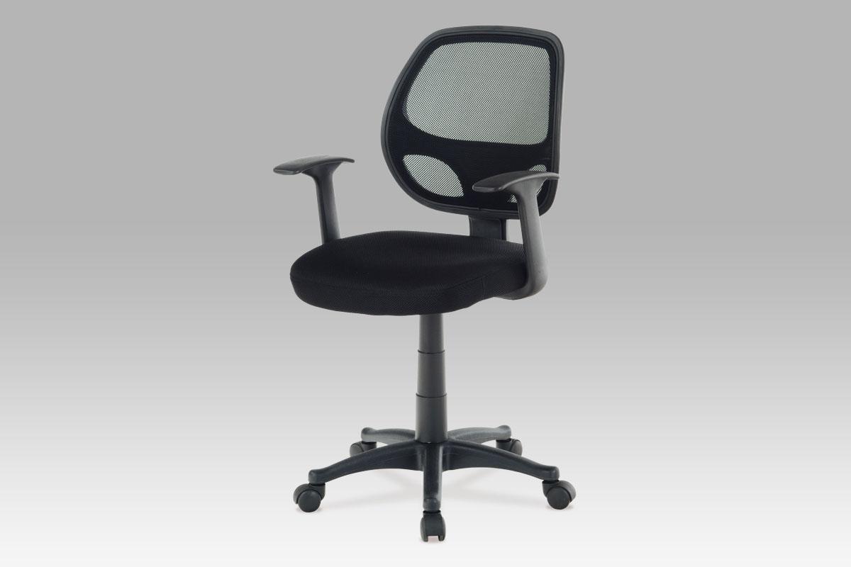 Autronic Kancelářská židle, mesh černá, KA-W118 BK