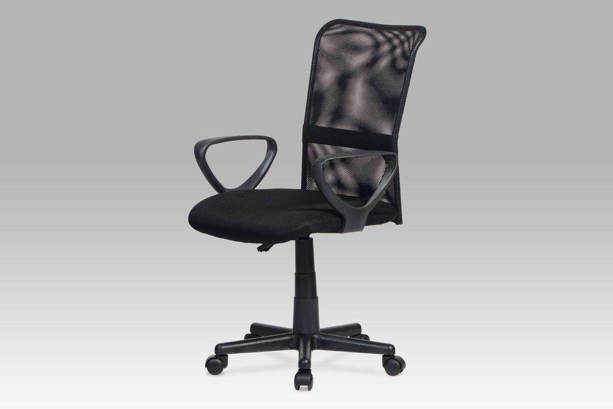 Autronic Kancelářská židle, mesh černá, výškově nastavitelná, KA-N844 BK