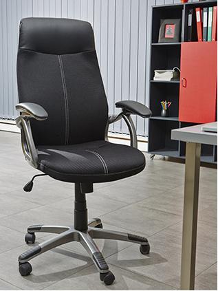 DEMEYERE TERANIS, kancelářské křeslo, černá