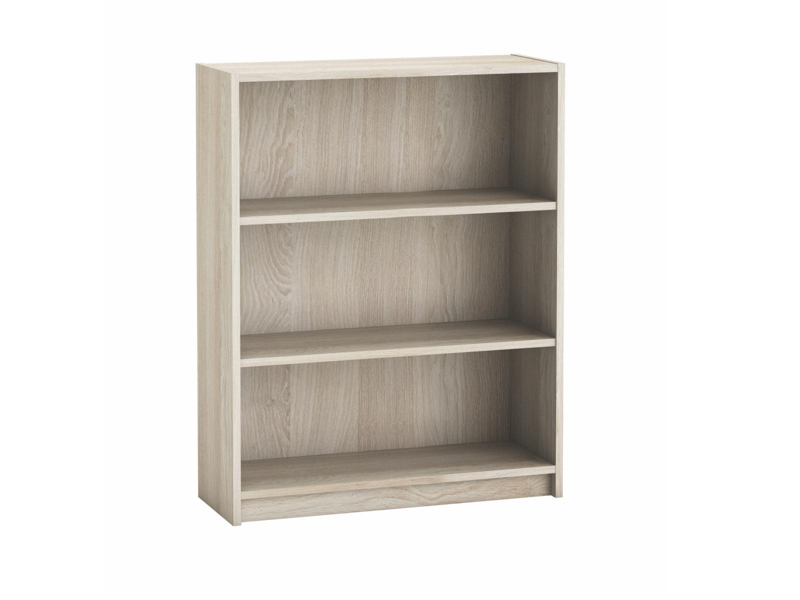 OPTIMA, knihovna šíře 80 cm, dub shannon, knihovna šíře 80 cm, dub shannon