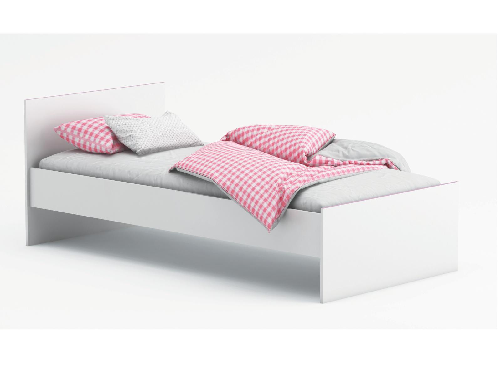 DEMEYERE SVITCH, postel 90x190 cm, bílá/růžová nebo modrá