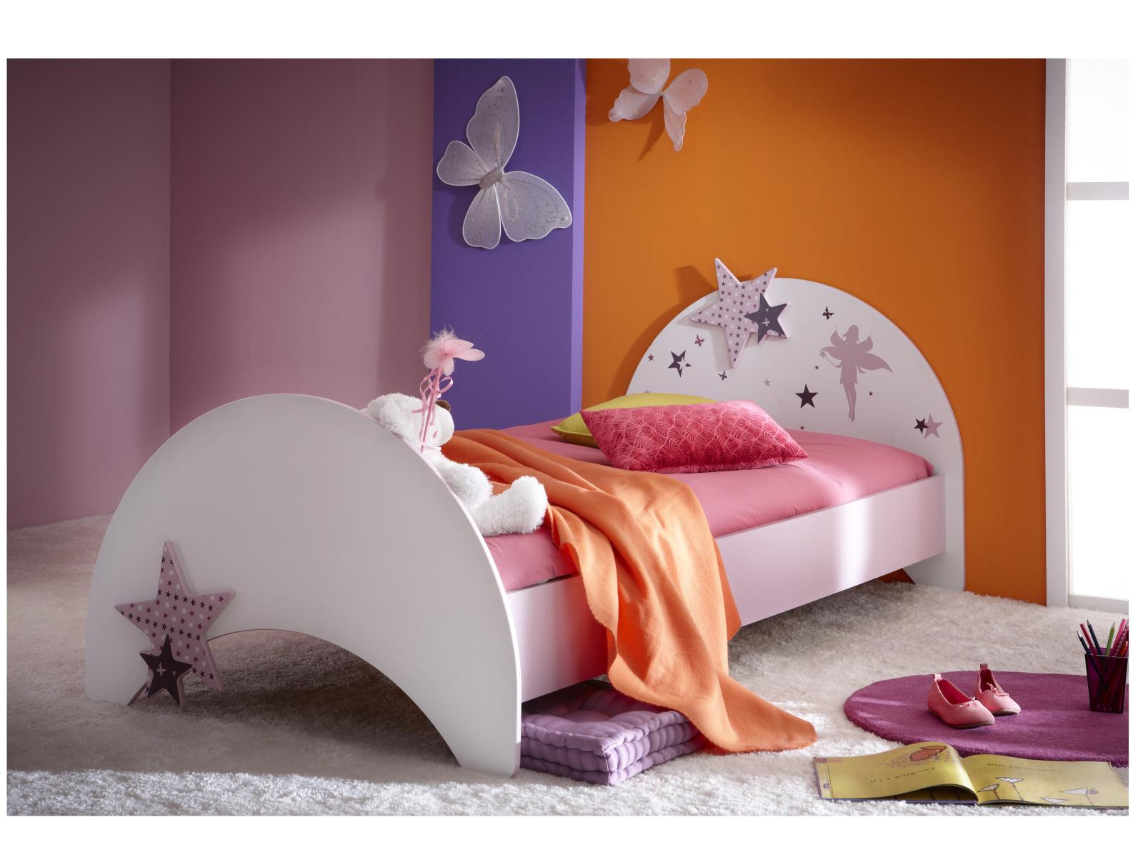 DEMEYERE FEI, postel 90x190 cm, fialková