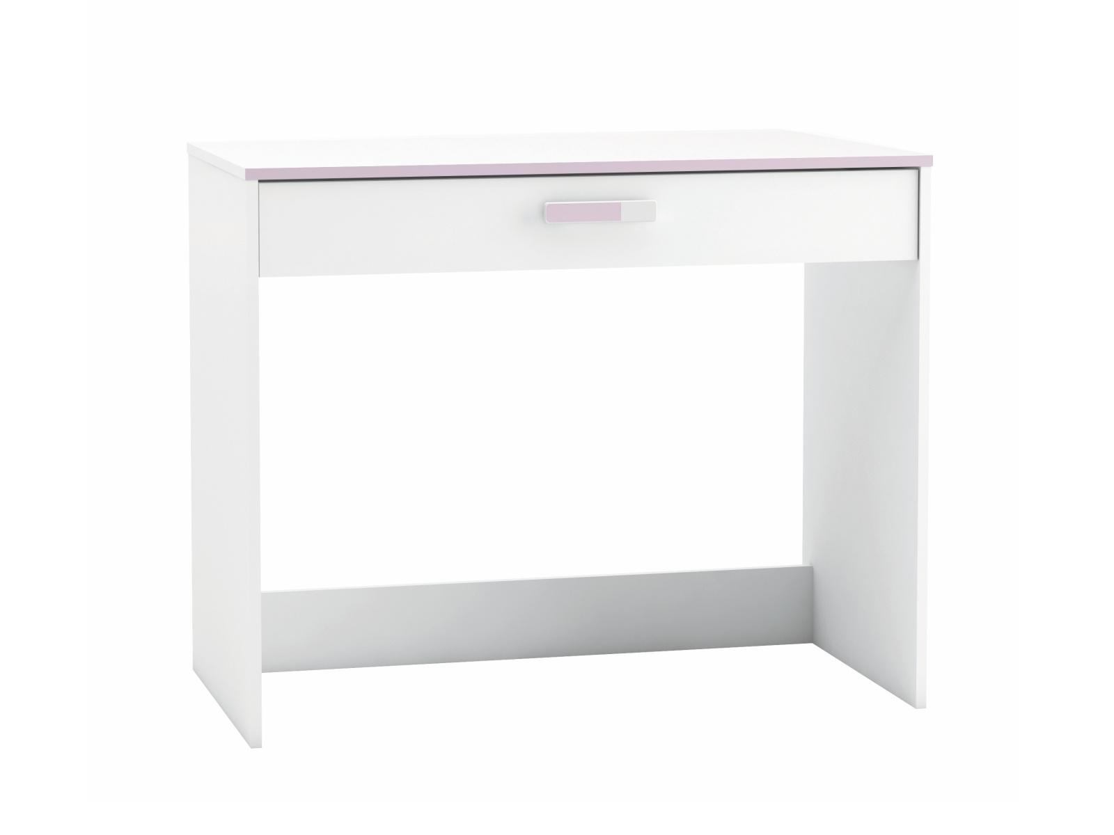 DEMEYERE Dětský psací stůl SVITCH, bílá/růžová nebo modrá
